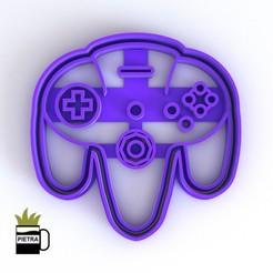 cults12.jpg Télécharger fichier STL Nintendo 64 JOSTICKS COUPANT LE MOULIN POUR LES CALLETS FONDANTS • Modèle pour imprimante 3D, Gustavo015