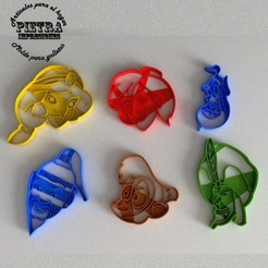 2.jpg Download STL file ALADDIN DISNEY FONDANT COOKIE CUTTER • 3D printer object, Gustavo015
