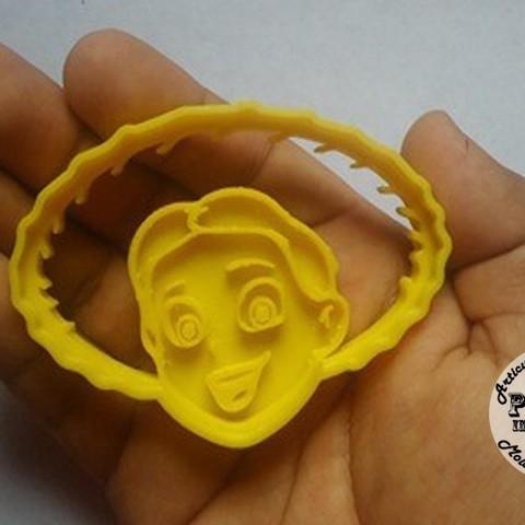 Télécharger plan imprimante 3D Jessie Toy Story Cookie Cutter Moule à biscuits, Gustavo015