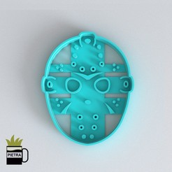 Download 3D printer designs FONDANT JASON COOKIE CUTTER MODEL 3D PRINT, Gustavo015