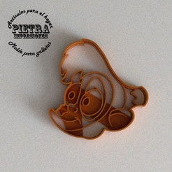 abu.jpg Download STL file FONDANT ALADDIN (ABU) DISNEY COOKIE CUTTER • 3D print design, Gustavo015