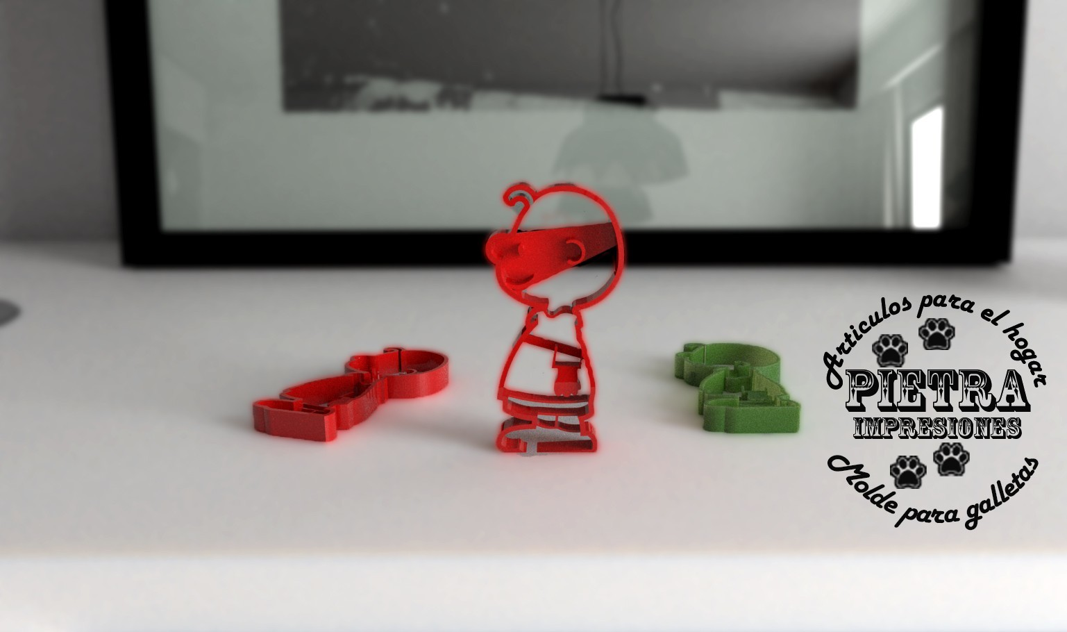 061 charly brown.jpg Download STL file Charlie Brown Fondant Cookie Cutter • 3D printer template, Gustavo015