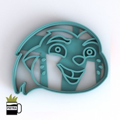 cults5.jpg Download STL file LION GUARD FONDANT COOKIE CUTTER BUNGA PRINT MODEL 3D • 3D printable object, Gustavo015