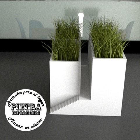 Download 3D printer designs Flowerpot for interior 02, Gustavo015