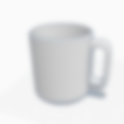 Download free STL files Classic mug, graphismeMIH