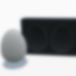 Télécharger fichier 3D gratuit Moule Oeuf de Pâque, graphismeMIH