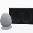 Diseños 3D gratis Moldear huevo de Pascua, graphismeMIH