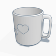 Image.png Download free STL file Love Mug • 3D print object, graphismeMIH