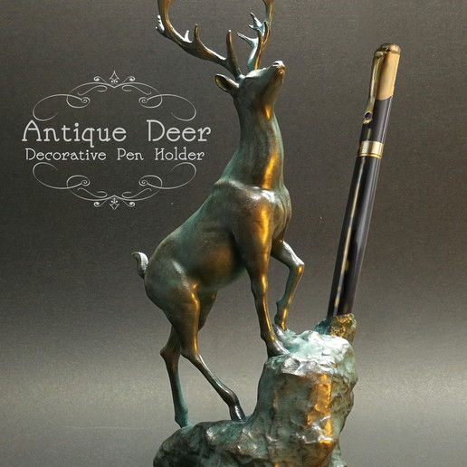 Download 3D printer designs Antique Deer, numfreedom