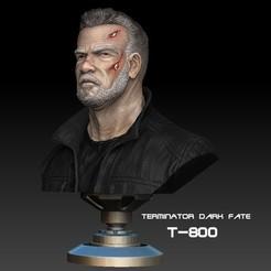 Download STL file Terminator Dark Fate, numfreedom
