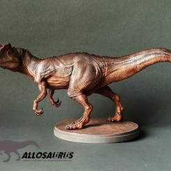 Download STL files Allosaurus, numfreedom