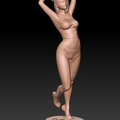 Download 3D printer designs Girl on the beach, numfreedom