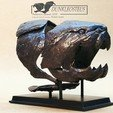 Download STL file Dunkleosteus fossil • Template to 3D print, numfreedom