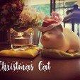 Download 3D printing models Christmas Cat, numfreedom