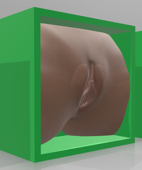 Girl-06.png Download OBJ file Box Box Box (3D Vagina Set) • Design to 3D print, QwertyPlate