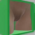 Girl-04.png Download OBJ file Box Box Box (3D Vagina Set) • Design to 3D print, QwertyPlate