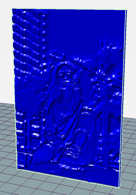 01.png Download free STL file 3D STL Photo of Woman Sitting on Wall • Template to 3D print, QwertyPlate