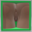 Girl-07.png Download OBJ file Box Box Box (3D Vagina Set) • Design to 3D print, QwertyPlate