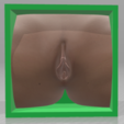 Girl-05.png Download OBJ file Box Box Box (3D Vagina Set) • Design to 3D print, QwertyPlate