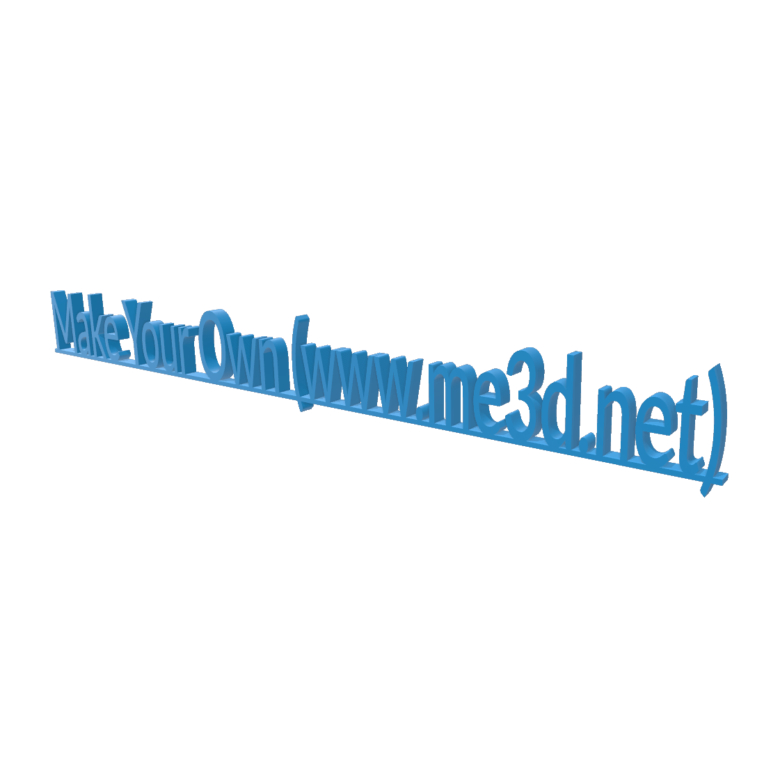 Untitled.png Download free STL file Desktop Sign • 3D printable model, QwertyPlate