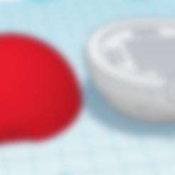 Free Pokeball SDCard Holder STL file, DaniPro20