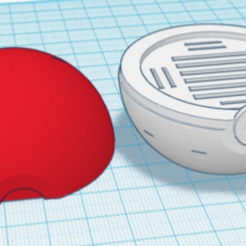 Download free 3D printer designs Pokeball SDCard Holder, DaniPro20