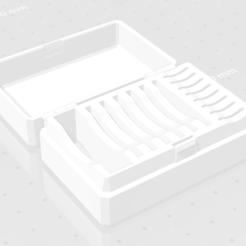 Descargar archivos 3D gratis Hinged SD Card Box, DaniPro20