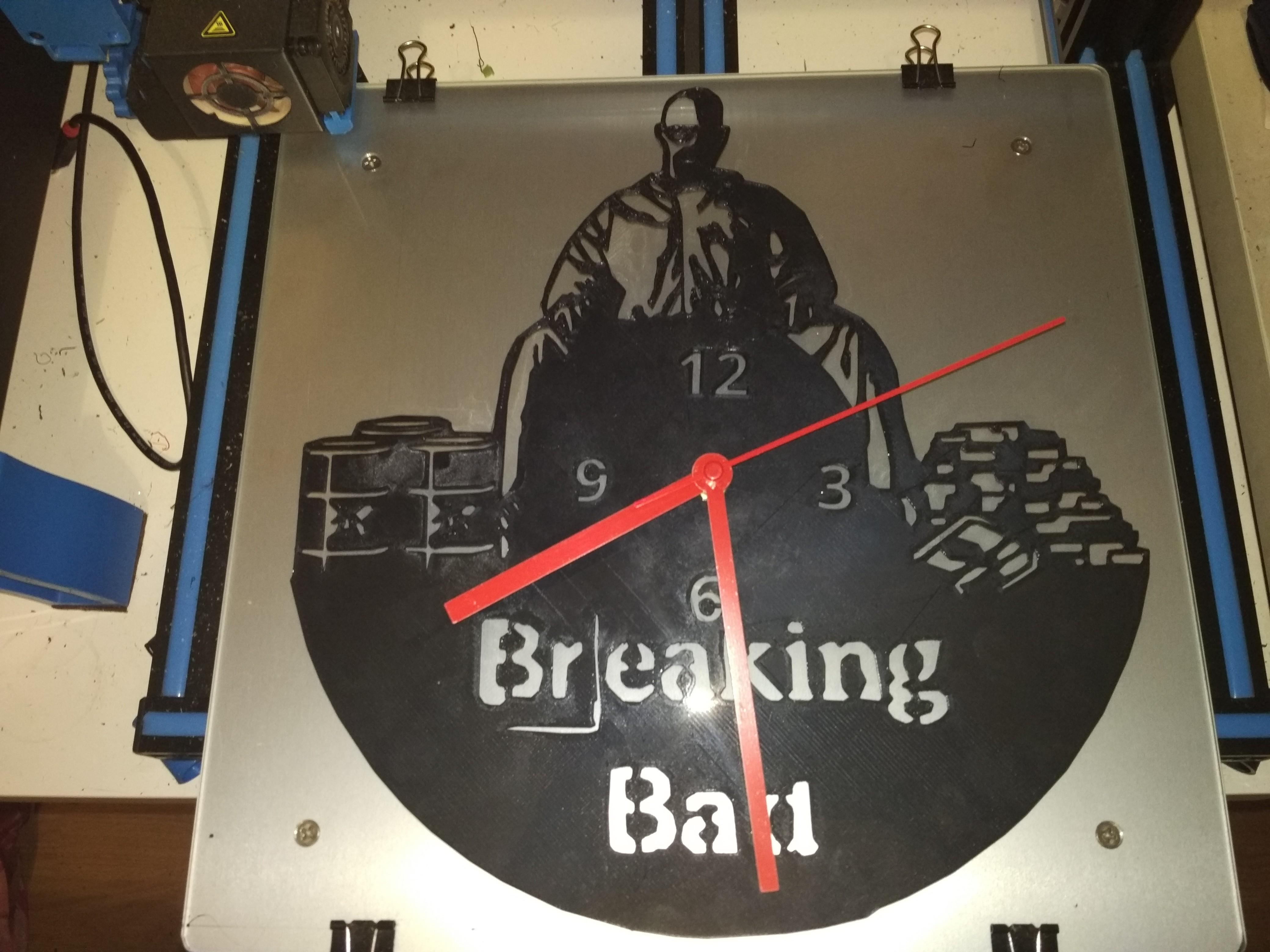 IMG_14082018_171717.jpg Download STL file Clock vinyl collection • 3D printer design, razoner