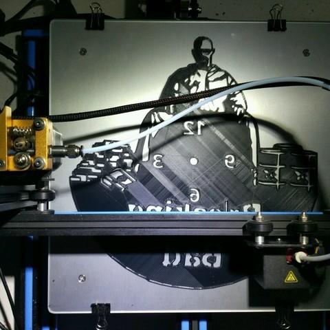 IMG_14082018_114924.jpg Download STL file Clock vinyl collection • 3D printer design, razoner