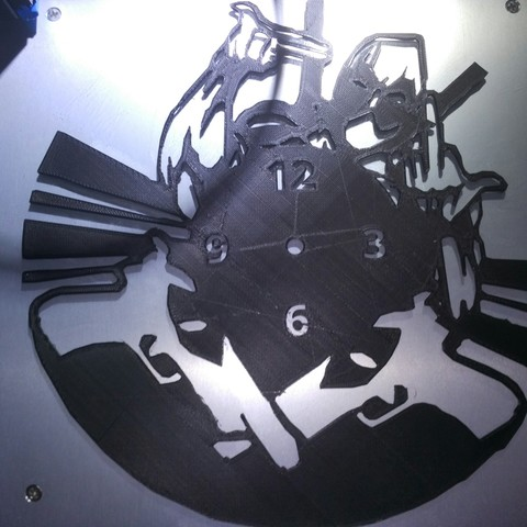 IMG_20180815_155524.jpg Download STL file Clock vinyl collection • 3D printer design, razoner
