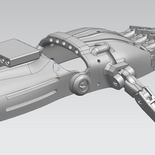Télécharger modèle 3D gratuit Prothèse main / Hand prosthesis, zouquet21