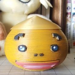 goron1.jpg Télécharger fichier STL gratuit Zelda - Tête de Goron - Pot • Design pour imprimante 3D, senhime
