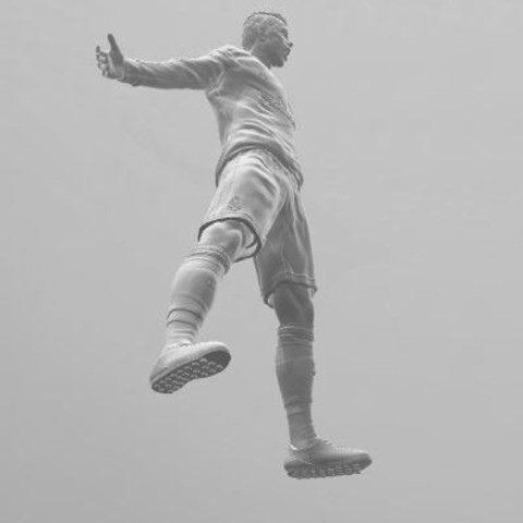 ronaldo4.JPG Download free STL file Cristiano Ronaldo • 3D printer template, ericthegringe