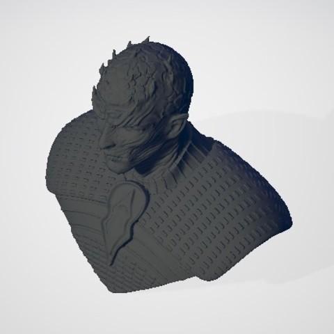 night-king2.jpg Download free STL file Game of Thrones - Night King • Template to 3D print, ericthegringe