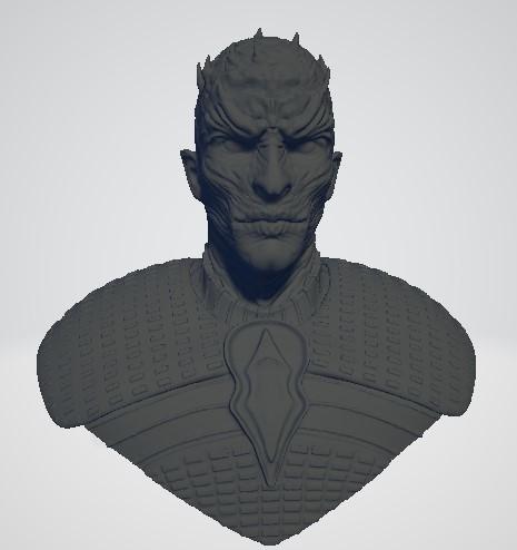 night-king3.jpg Download free STL file Game of Thrones - Night King • Template to 3D print, ericthegringe
