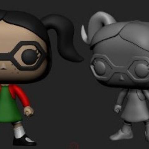 Download free STL file  Chiquinha e Dona Florinda Turma do chaves, El -Chavo, • 3D print design, ericthegringe