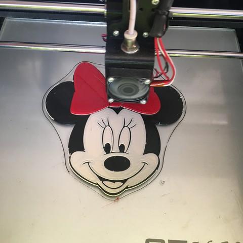 IMG_1074.JPG Download free STL file Minnie-Disney • 3D printable template, ericthegringe