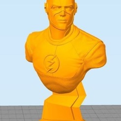 Download free 3D printer model Flash Bust, ericthegringe
