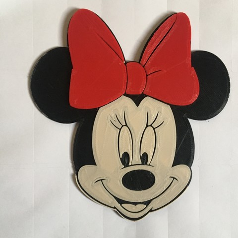 Download free 3D printing designs Minnie-Disney, ericthegringe