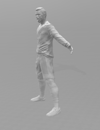 ronaldo1.PNG Download free STL file Cristiano Ronaldo • 3D printer template, ericthegringe