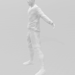 Download free STL file Cristiano Ronaldo • 3D printer template, ericthegringe