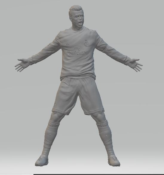 ronaldo5.JPG Download free STL file Cristiano Ronaldo • 3D printer template, ericthegringe