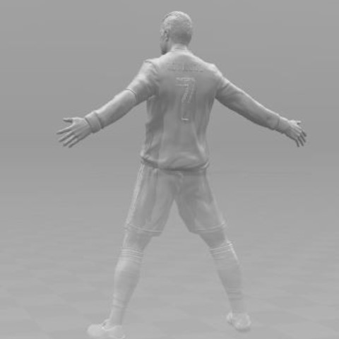ronaldo2.JPG Download free STL file Cristiano Ronaldo • 3D printer template, ericthegringe