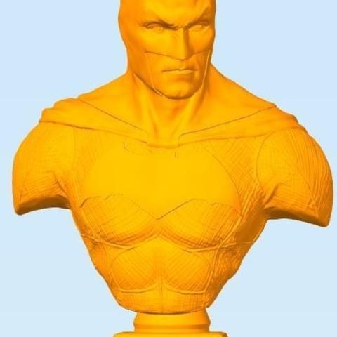 Imprimir en 3D gratis Busto Batman, ericthegringe