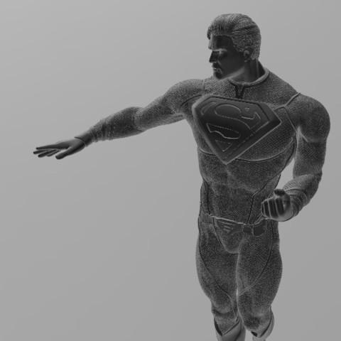Download free STL files Superman, ericthegringe