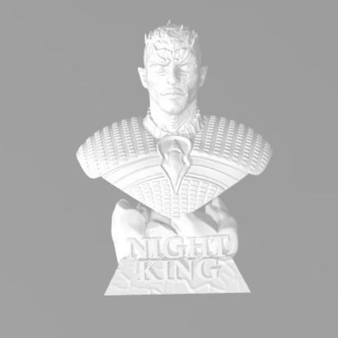 Impresiones 3D gratis Juego de Tronos - Rey Nocturno, ericthegringe