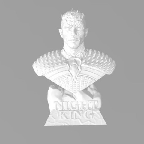 Télécharger fichier 3D gratuit Game of Thrones - Night King, ericthegringe