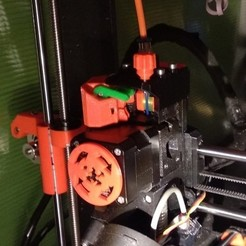 Download 3D printing models TheFrog is the PRUSAs MMU2 hairless extruder fix, raavhimself