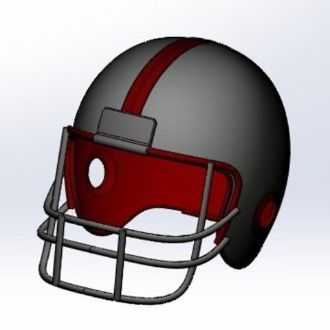 STL Helmet Football, pabloemilio