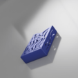 Free business card holder for desk 3D model, blandiant